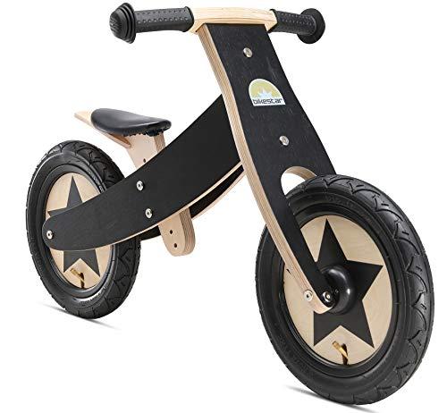 BIKESTAR Bicicleta sin Pedales para niños y niñas   Bici Madera 12 Pulgadas a Partir de 3-4 años...