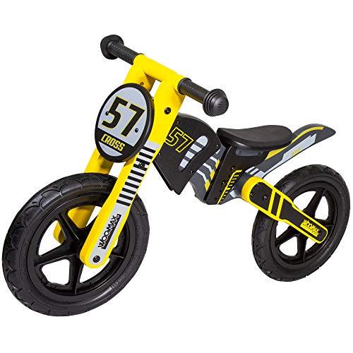 WOOMAX - Bici sin pedales madera niños 2-5 años(85370)