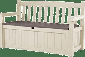Banco Baul de madera para jardín o para la casa.