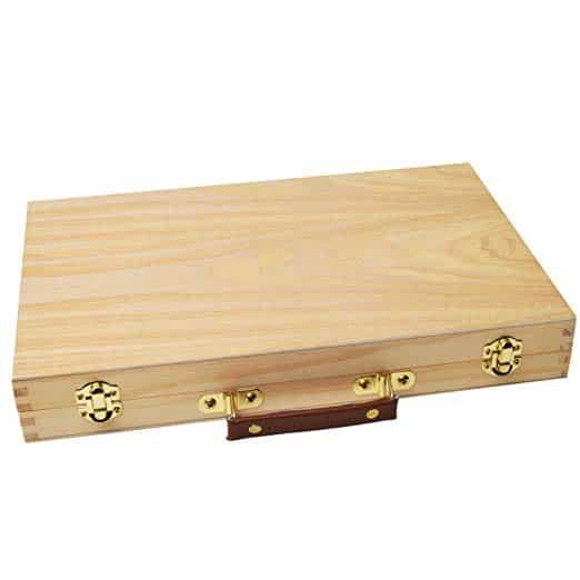 maletin de madera para pintar