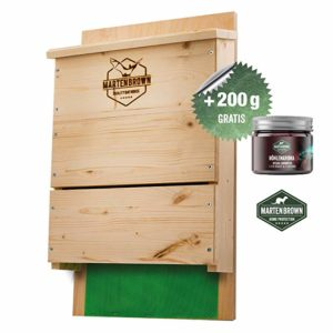 caja nido de madera para murcielagos
